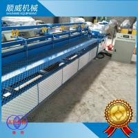 4.2m Width 380v Chain Link Fence Weaving Machine for road / railway / airport Manufactures