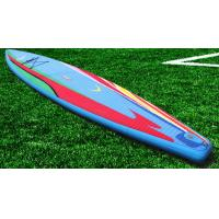 Customized Funny Inflatable Standup Paddleboard , 3.8m Soft Top Surfboard Manufactures