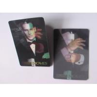 China Promotional Souvenir Movie Star 3D Lenticular Sticker For Buiness on sale