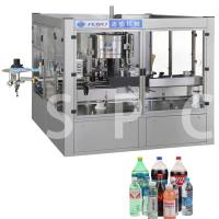 Electric Bottle Sticker Labeling Machine For Bottle Neck Body / Back Label Manufactures