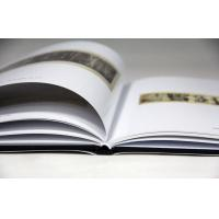 Quality 250gsm Glossy Art Paper Hardcover Book Printing Services With Dust Jacket for sale