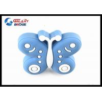 Butterfly Kids Bedroom Knobs / Furniture Decorative Cute Drawer Knobs Manufactures