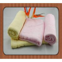 2016 Wholesale Home Textile 100% Bamboo Fiber Face Towel Luxury Home Kids face towels Manufactures