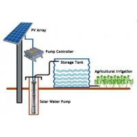 Farm Irrigation Solar Pump Controller Lightweight Small Size With Solar Panel Manufactures