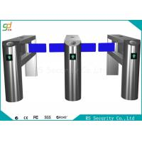 Quality 24v Electronic Automatic Supermarket Swing Barrier Gate Wicket Turnstiles for sale