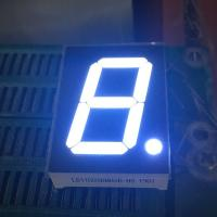 Single Digit Seven Segment Led Display 1 Inch Ultra White For Digital Numeric Indicator Manufactures