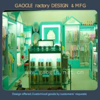 Latest Design clothes display showcase for kids