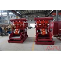 No dig drilling fluids process Hunter series mud cleaner at Aipu solids control Manufactures