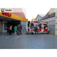 China Mobile 7D Movie Theater For Trailer Convenient In Shopping Mall Gate on sale