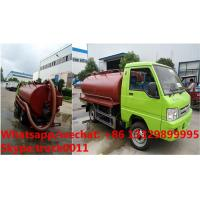Quality m tank truChina cheapest price Forland RHD mini 2,000L vacuuck for sale, Factory for sale