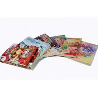 A6 Comic Children Soft Cover Book Printing With Hang Up Holes Manufactures