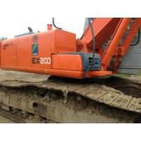 Japanese Used Hitachi Excavators EX200 - 5 No Oil Leak With Original Turbo Manufactures