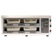 Quality Counter Type 2 Layer 4 Tray Food Warmer Cabinet LED Digital Display Independent for sale