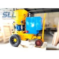 Swimming Pool Building Dry Shotcrete Machine Equipment Long Service Life Manufactures