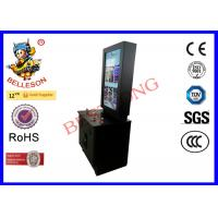 40 Inch Big LED Screen Black Upright Arcade With  Coin Operated  Support DIY Sticker Manufactures