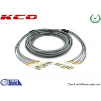 FC 3mm Outdoor Fiber Optic Patch Cable , 6 Core Multimode Fiber Optic Cable Manufactures