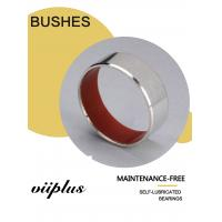 Red PTFE Corrosion Resistance Stainless Steel Bushings For Marine Industrial Machinery Manufactures