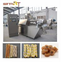 SS Single Screw Food Extruder , Automatic Pet Food Processing Machinery Manufactures