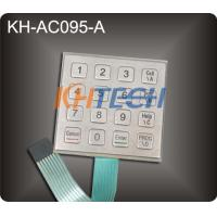 Stainless steel access control keypads Manufactures