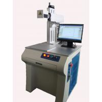 Carbon Steel / Aluminum Materials Fiber Laser Marking Machine , High Beam Quality And High Reliability Manufactures