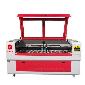 4 Head Fabric Laser Cutting Machine , Inter - Moving CNC Laser Cutter Manufactures