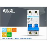 Short circuit protect overload Miniature circuit breakers mcb c63 with remote control Manufactures