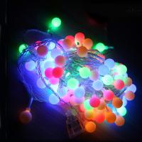 AC220V 10m Holiday Decoration LED String Lights with 80LED Balls Manufactures