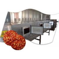 Transmission System Chili Drying Machine , Microwave Continuous Belt Dryer Manufactures