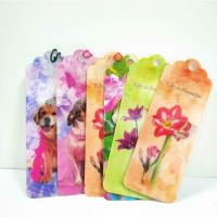 Unique Lenticular 3D Animal Bookmarks With Tassel For Gifts And Souvenirs Manufactures