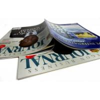 Quality Glue and sewing binding UV coated C2S Art / Fancy Paper Printing Trade Magazines for sale