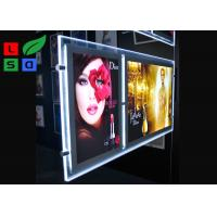 Double Graphic LED Light Box Panels , DC 12V Advertising Light Box For Window Display Manufactures