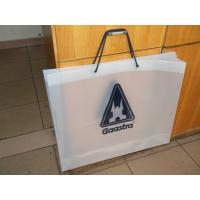 Fashion Soft Loop Handle Bag , Cotton Rope Handle HDPE Shopping Bag Manufactures