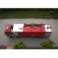 Rotatable Structure Cab Water Fire Truck With Electronic Direct Injection Diesel Engine Manufactures