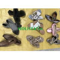 Comfortable Used Womens Sandals , Second Hand Leather Shoes For Ladies Manufactures