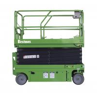 Quality Fully Electrical Upright Scissor Lift 2 Persons , Heavy Duty Scissor Lift 1.5° / 3° Tilting range for sale