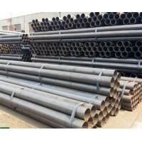 A53 / ASTM 5L Round Carbon Steel Seamless Pipe , Seamless Boiler Tubes Manufactures