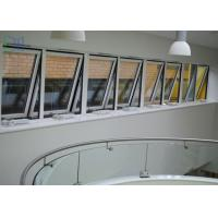 Powder Coating Metal Awning Windows , Top Hung Roof Window AS2047 Standard Manufactures