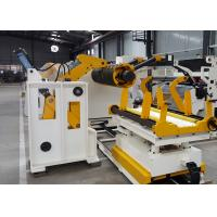 Quality Metal Coil Hydraulic Uncoiler Machine , CE High Precision Coil Processing for sale