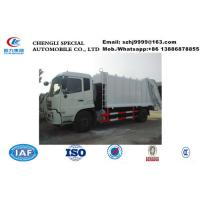 China-made Chengli factory sale good price 12m3 garbage compactor truck for sale, 10tons refuse garbage compactor truck Manufactures