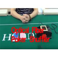 Casino Optical Fiber Poker Playing Card Shuffler For Baccarat Gambling Cheat Manufactures