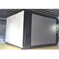 Outdoor Oxford Cloth Material Inflatable Movie Screen 4*3m For Home Party Manufactures