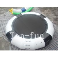Funny Inflatable Rrampoline Amazing PVC Inflatable Water Parks For Kids and Adults Manufactures