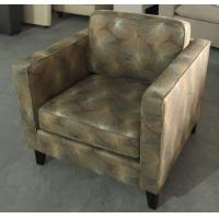 Hotel wooden fabric upholstery lounge chair ,single sofa LC-0018 Manufactures
