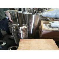 306 / 304 Stee Grade Stainless Steel Flanges , Orifice Steel Blind Flange Cold Drawing Manufactures