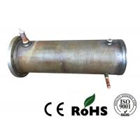 Precision Air Cooled Condenser , Tube And Tube Heat Exchanger For Refrigeration Unit Manufactures