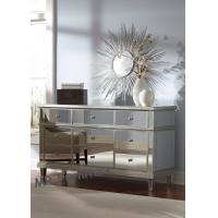 9 Drawers Mirrored Storage Chest , American Style Mirrored Drawer Chest Set Manufactures