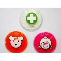 Promotional Reusable Custom Ice Packs , Round Ice Pack With Logo Manufactures