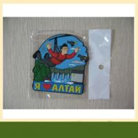 Garment accessories customized pvc patches 3d silicone rubber garment label clothing label Manufactures