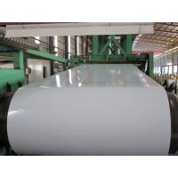 Buy cheap EN10215 , ASTM A792 Full Hard Galvalume Steel Coil 750 - 1000mm WD , Al - Zn Coated from wholesalers