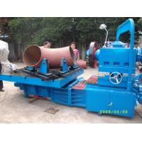 """Electric Pipe Beveling Machine , Hydraulic Tee Forming Machine Processing Size 12""""-24"""" Manufactures"""